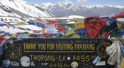Annapurna Circuit Thorong La pass trek 7 days