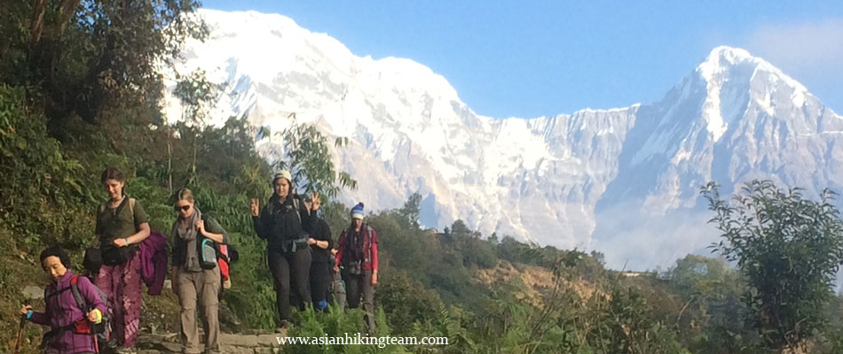 Little Paradise trekking in Annapurna
