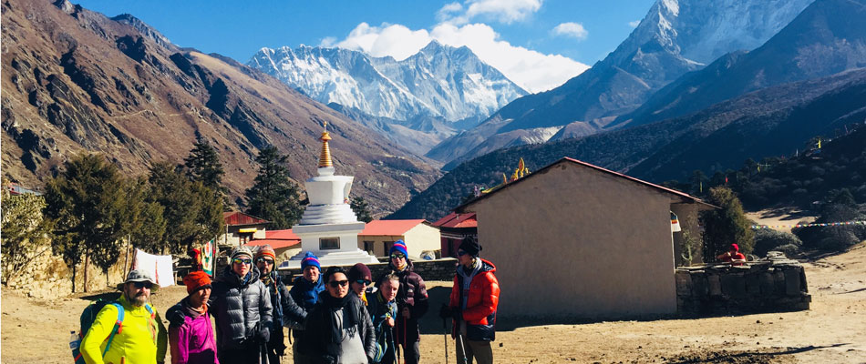 Trekking from Sallery to Everest Base Camp