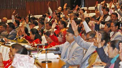 CA endorses Nepal's Constitution 2072 with two-thirds majority
