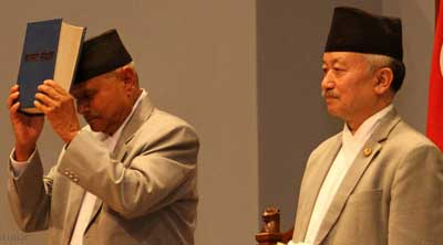 Nepal gets new constitution