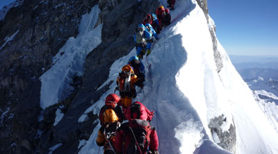 Nepal Sets quota system for Everest Expedition