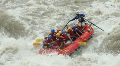 Kaligandaki Water Rafting in Nepal