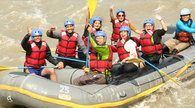 Trisuli water Rafting