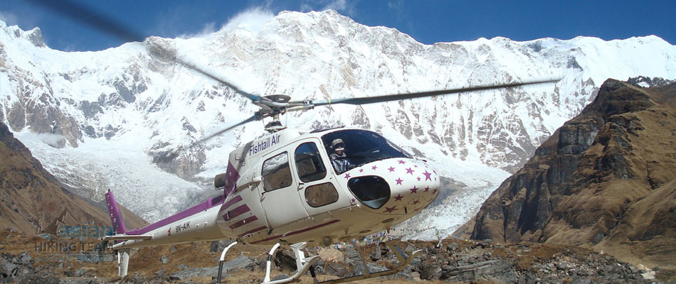 Helicopter Tour of Nepal