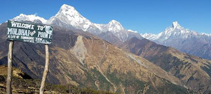 Annapurna alternative or Khopra Danda Treks