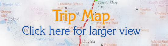 Lhasa sightseeing tour  Map